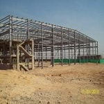 Toyota Egypt Company - Buses Factory - Trusses