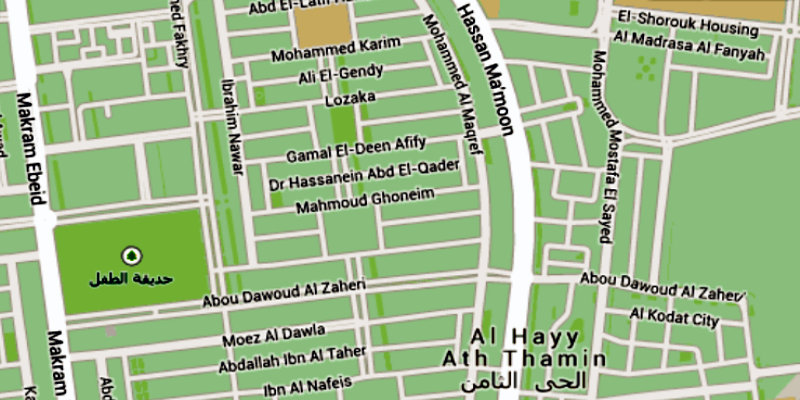 DEDA MISR Main Office Map