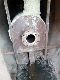 شركة أيزيس لصناعة الذرة – وحدة الأشتعال  -- بيت النار أثناء التصنيع